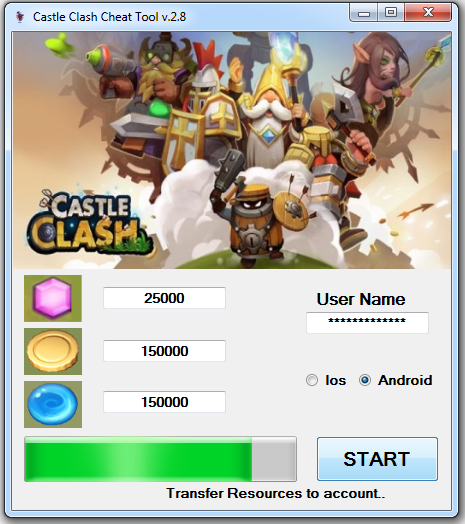 how to get gems in castle clash