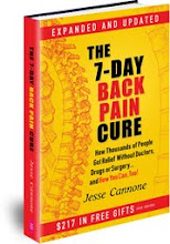 FREE! 7 DAY BACK PAIN CURE BOOK