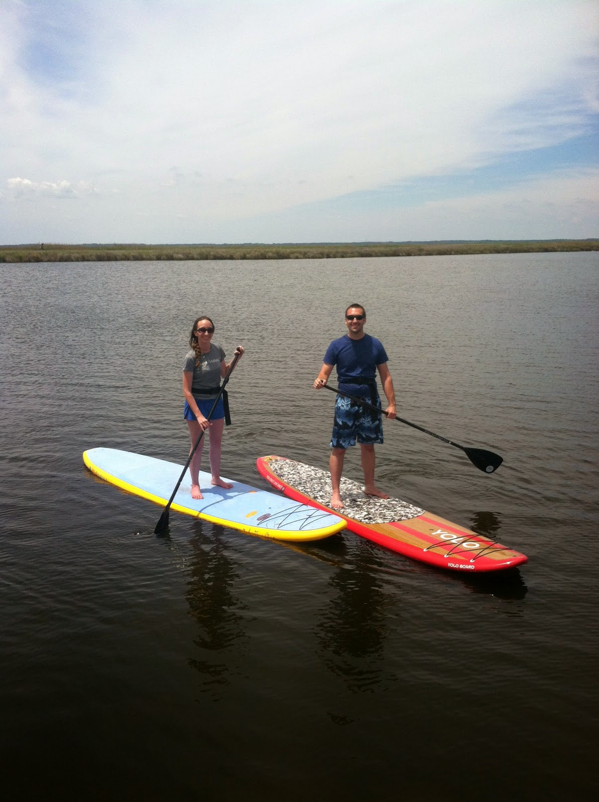 outer banks standup paddleboard