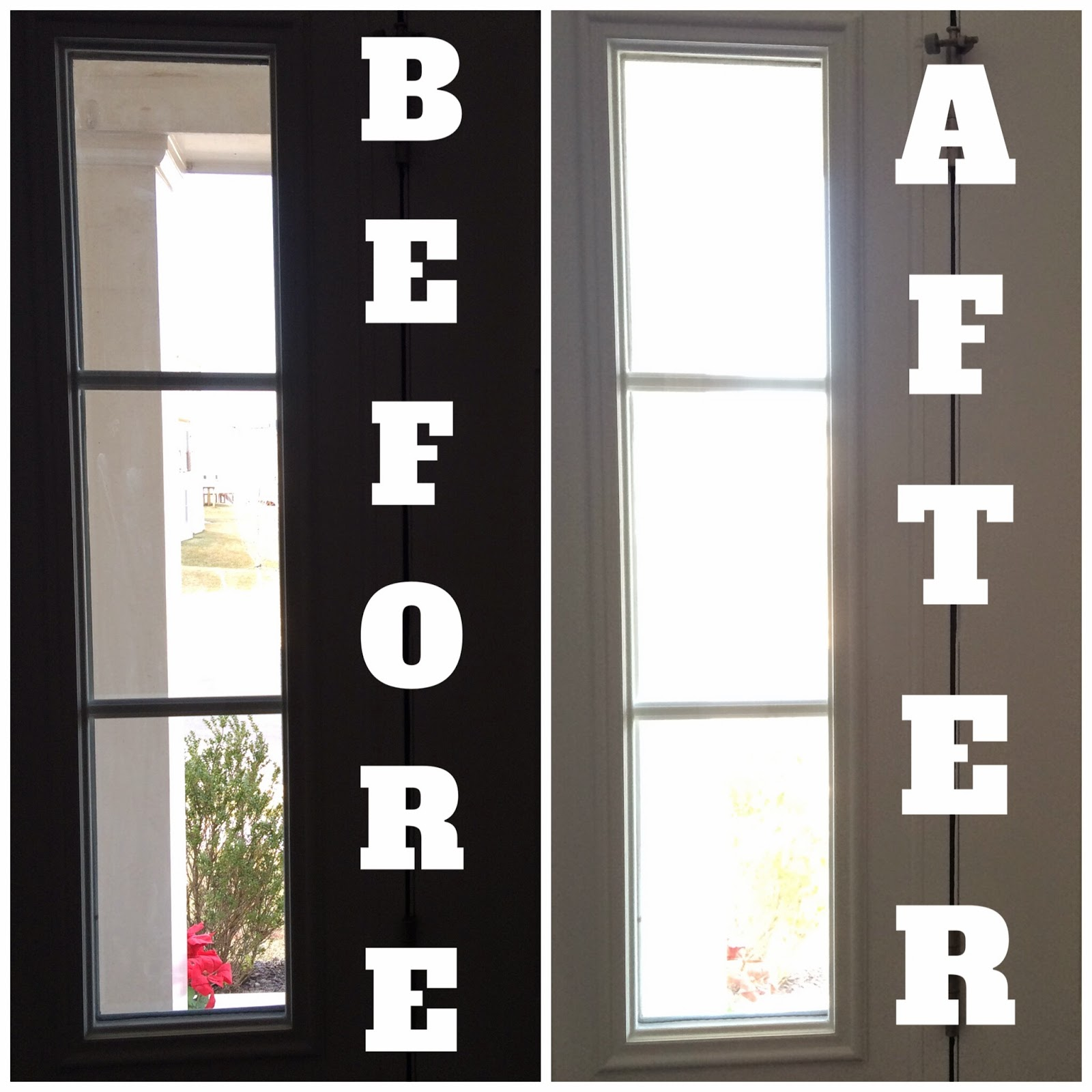 Window Privacy Before & After