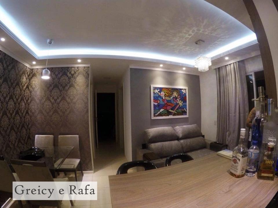 decoracao de sala jovem:Decoração de apartamento do jovem casal! – Jeito de Casa – Blog de