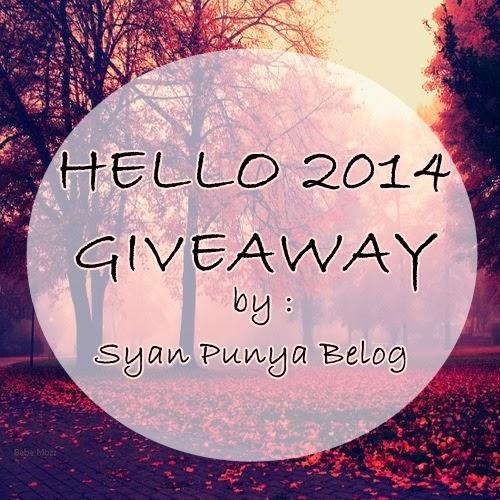 Hello 2014 Giveaway by Syan Punya Belog
