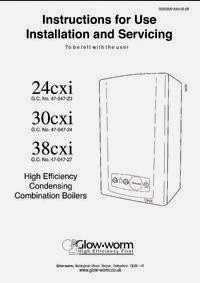 GLOW WORM 24CXI BOILER MANUAL