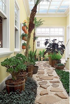 Im genes de jardines interiores jard n y terrazas - Diseno de jardines interiores ...