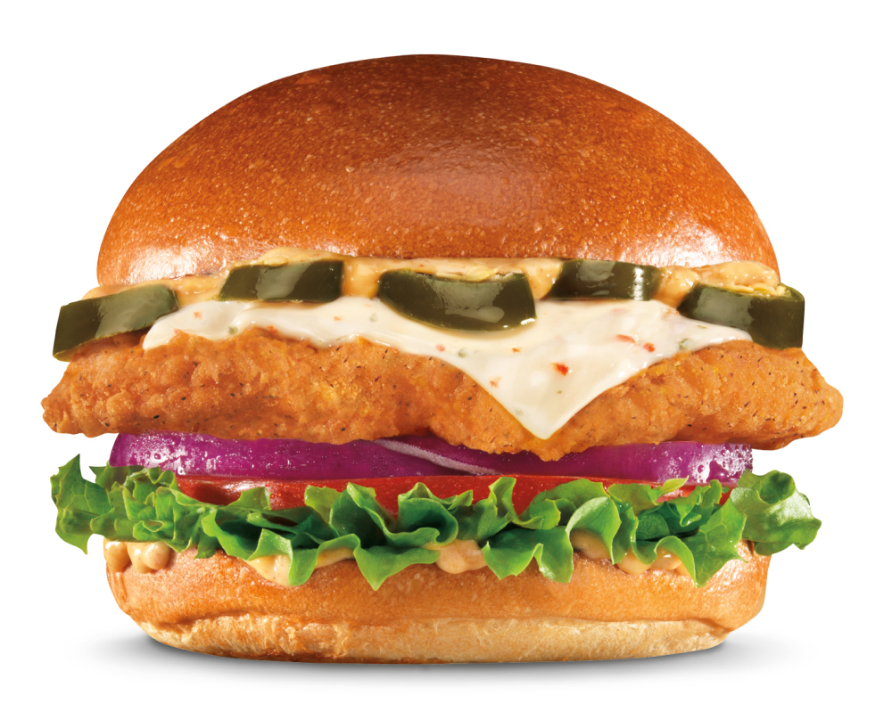News carl 39 s hardee 39 s adds jalapeno version of new big for Hardee s fish sandwich