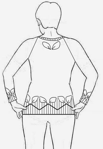 Lace Cardigan Pattern besides 2 as well Wheat Motif Bolero Vest Jacket 10 Large likewise Easy One Piece Shelled Bolero furthermore Cherylchowdesigns blogspot. on one piece crochet vest pattern