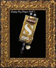 Sweet-heart Vintage Assemblage Necklace