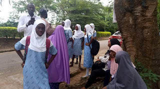 BREAKING: Hijab-wearing female students bar from UI school [PHOTOS]