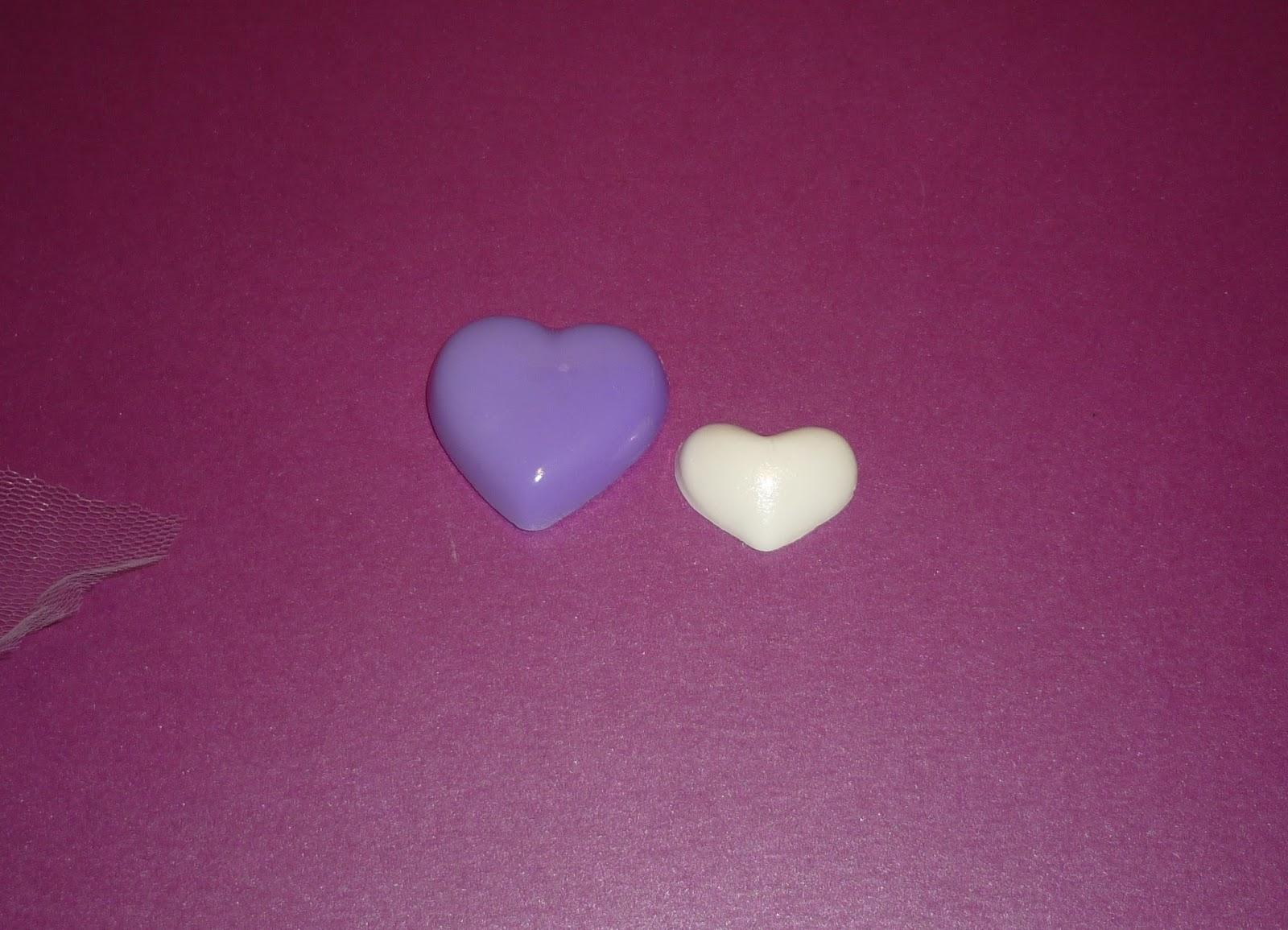 Minimandy. Jabones. Corazón. Baby Shower. Nacimiento. Souvenir.