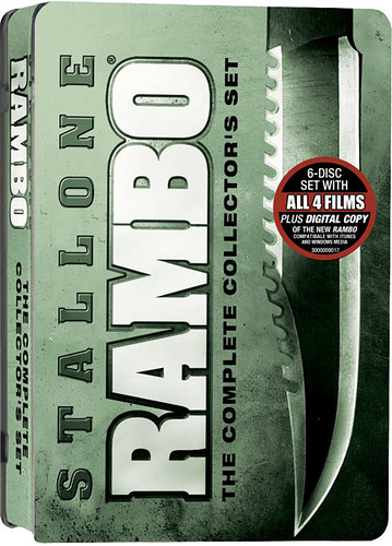Download Quadrilogia Rambo DVDRip AVI Dublado