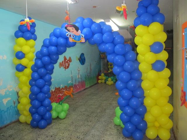 Fiesta tematica princesa disney blanca nieves fiestas for Globos decoracion fiestas