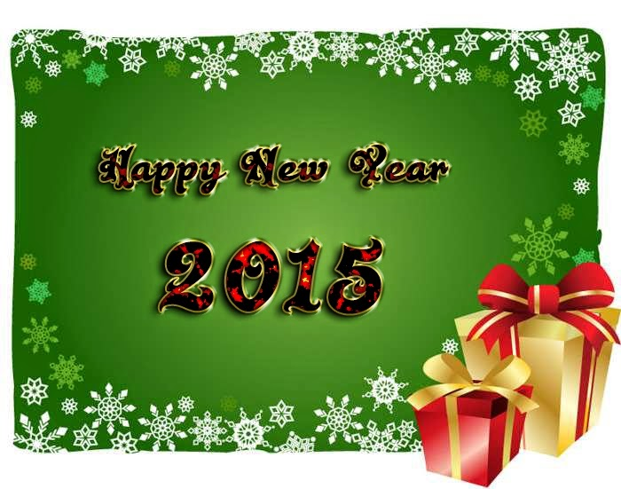 Lovely Christmas Happy New Year Greeting Cards Images 2015