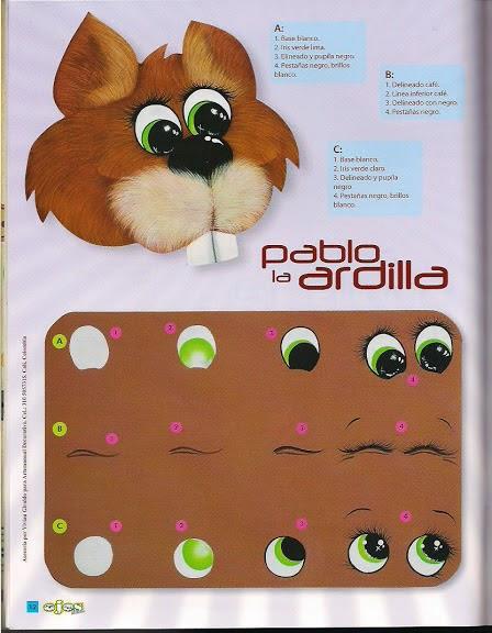 Aprende a pintar ojos a las manualidades revistas de - Aprender a pintar ...