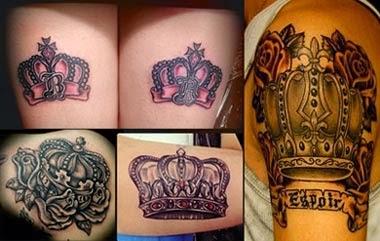 Desenhos de tatuagens de coroa