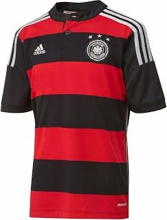 Jersey GO Jerman Away World Cup 2014
