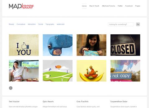 Madkassar Blogger Template