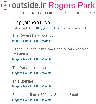 Rogers Park in 1,000 Words