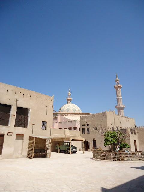 Mosque at Ajman Museum