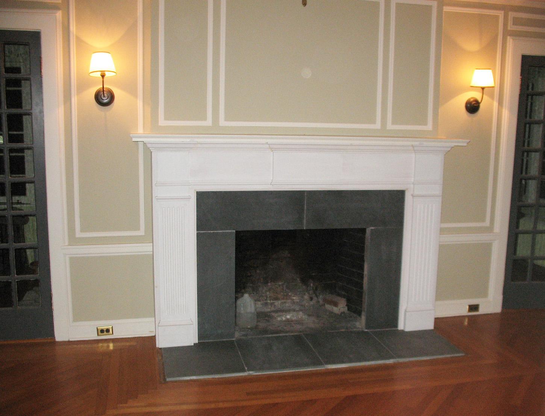 slate fireplace surround fireplace surround