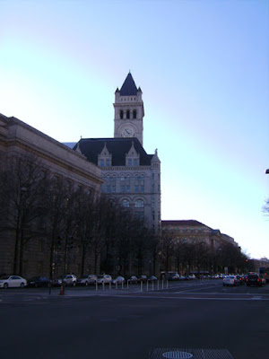 Old Post Office Tower as seen from street