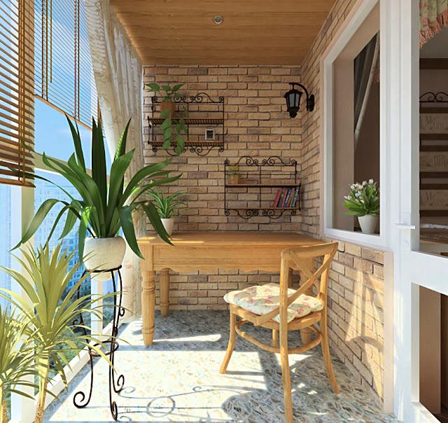 Как оформить балкон в стиле прованс - фото идеи.