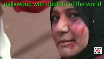 """Médicos do Mundo fabricam """"vítimas"""" em Gaza"""