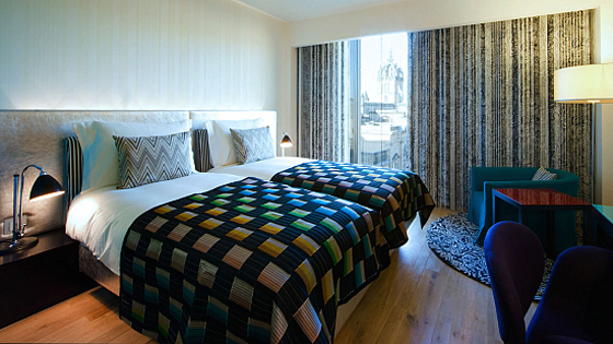 Italian Luxury Hotel Interior Design In Hotel Missoni