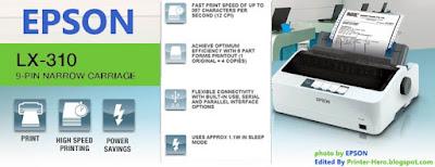 Spesifikasi Lengkap Printer Epson LX310+II Dotmatrix