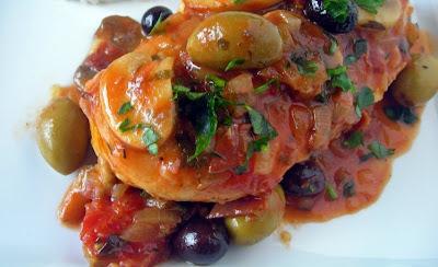 Positive eating positive living la berline de napol on le poulet marengo - Poulet marengo recette ...