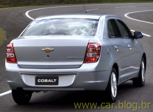 Novo Chevrolet Cobalt 2012 - traseira