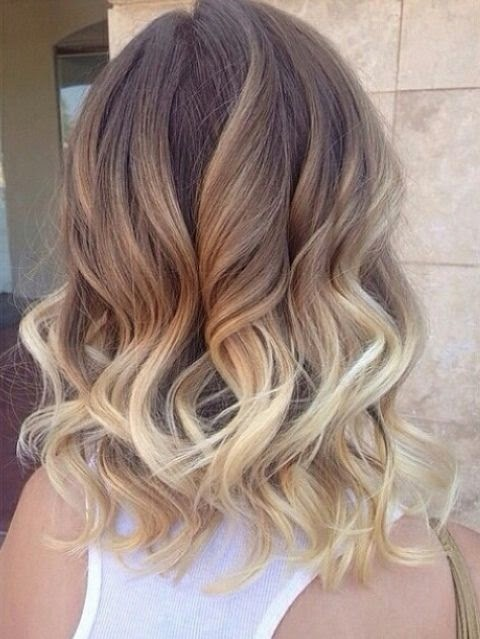 kısa saç ombre