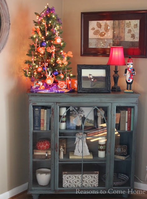 Clemson Christmas Tree