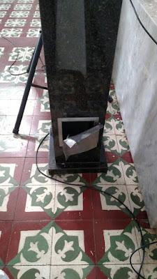 Cofre dentro da igreja Matriz de Reriutaba é arrombado e ladrões levam doações.