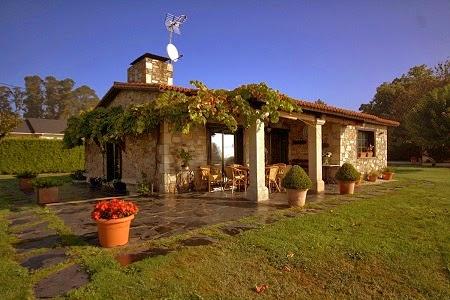 Fachadas de piedra frentes de casas con piedras rusticas - Casas de piedra gallegas ...