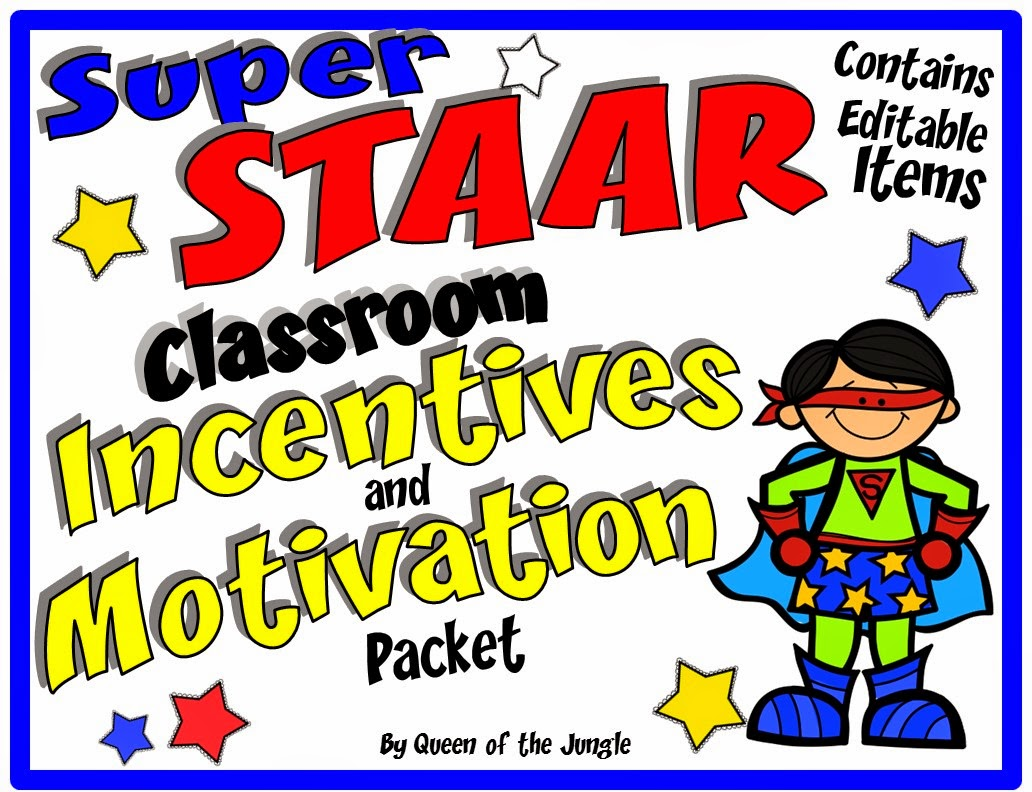 https://www.teacherspayteachers.com/Product/STAAR-Classroom-Incentives-and-Motivation-Packet-1716544
