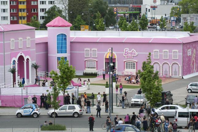 La casa de los sue os de barbie for Casa de los suenos