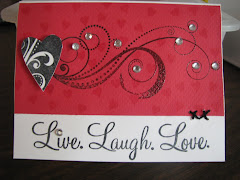 Live. Laugh. Love. Card