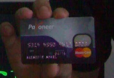 kartu payoneer