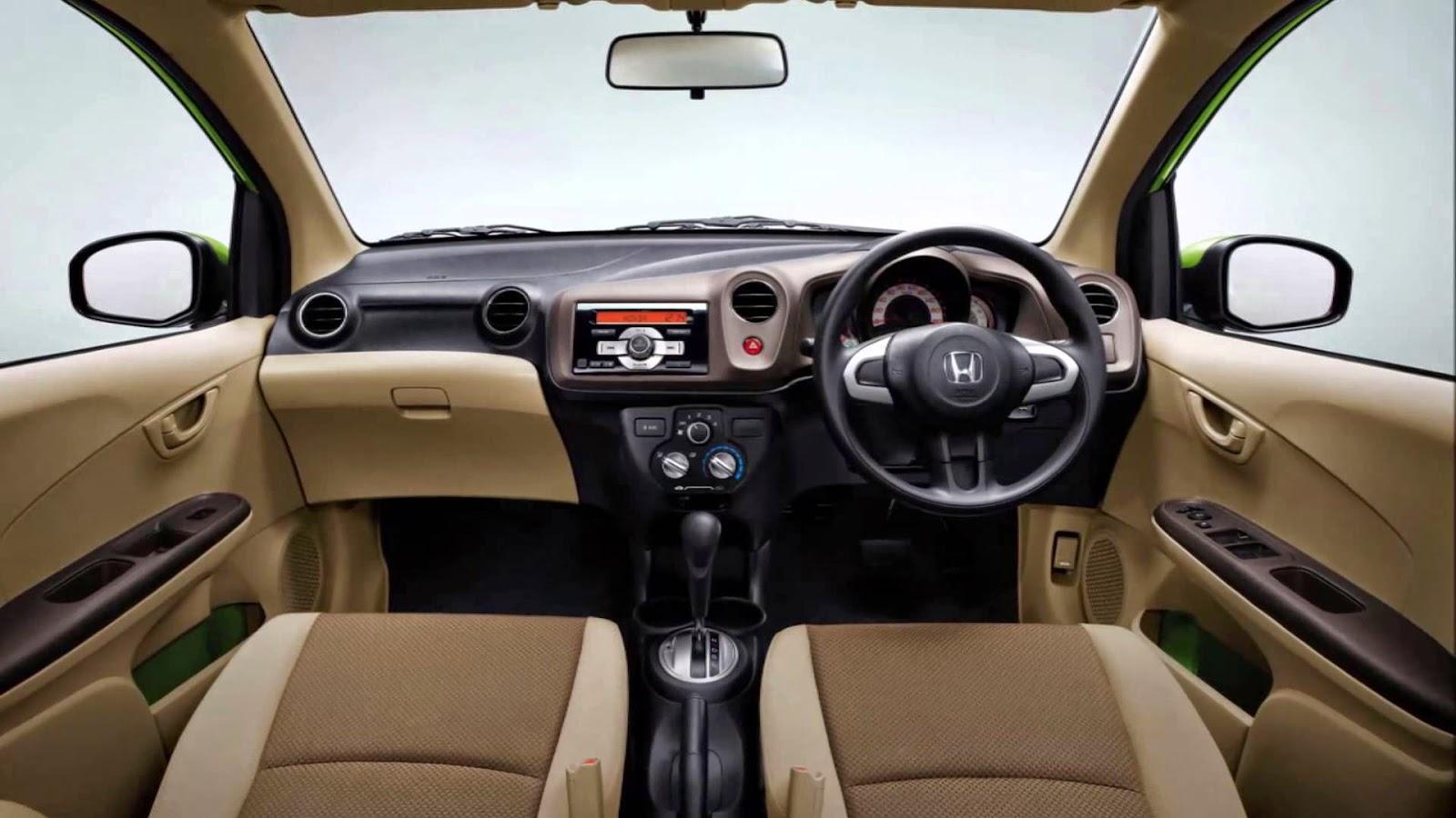 Honda Mobilio Interior Image