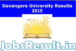 Davangere University Results 2015