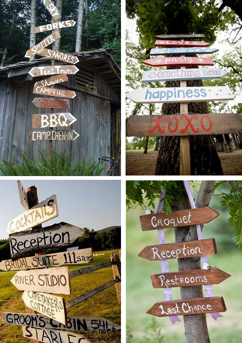Wood Sign Design Ideas wood retaining wall ideas design awesome 59812 Modern Country Designs Wooden Wedding Sign Post