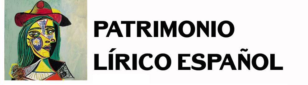 Patrimonio Lírico Español