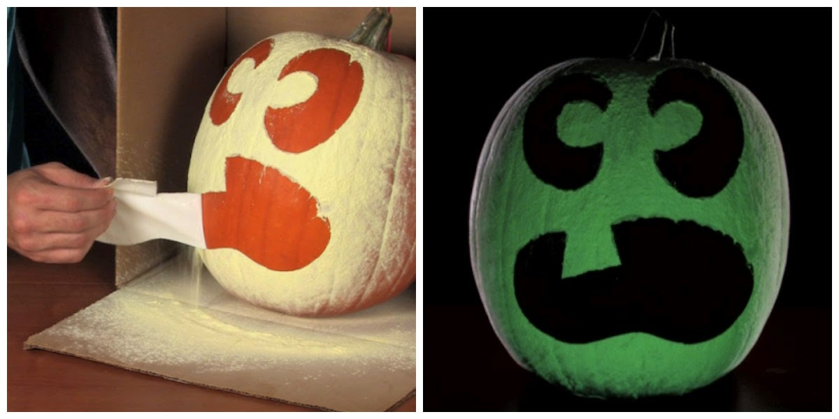 http://www.stevespanglerscience.com/blog/halloween-2/skip-carving-jack-o-lanterns-create-glow-in-the-dark-halloween-pumpkins/