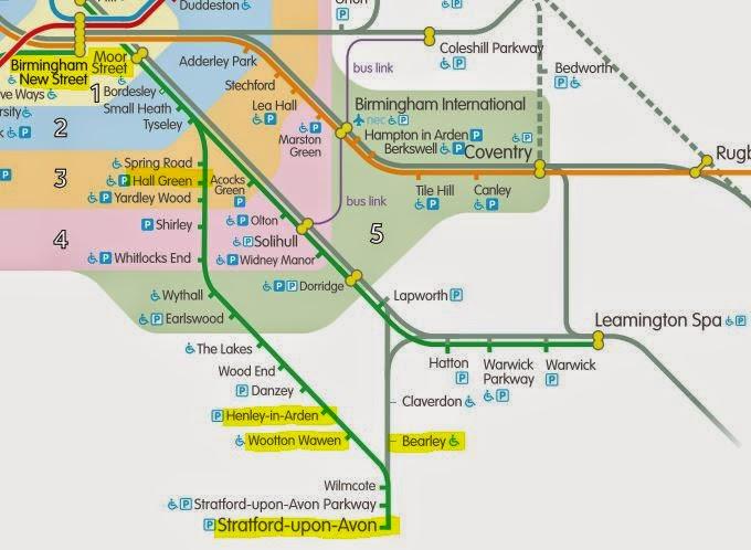 Great British Bus Routes X20 Birmingham  Stratford