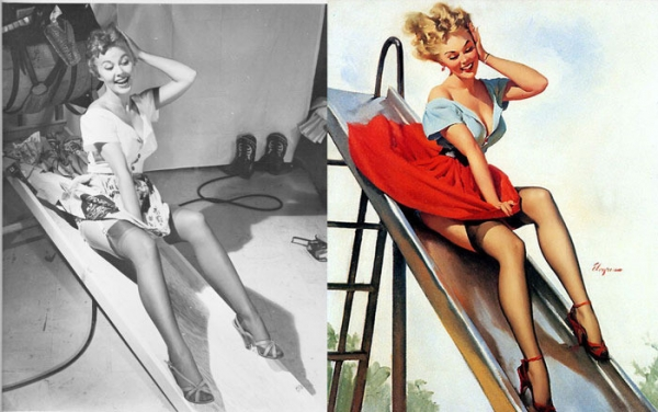 vintage pin up models retro erotica art sexy our nostalgic memories