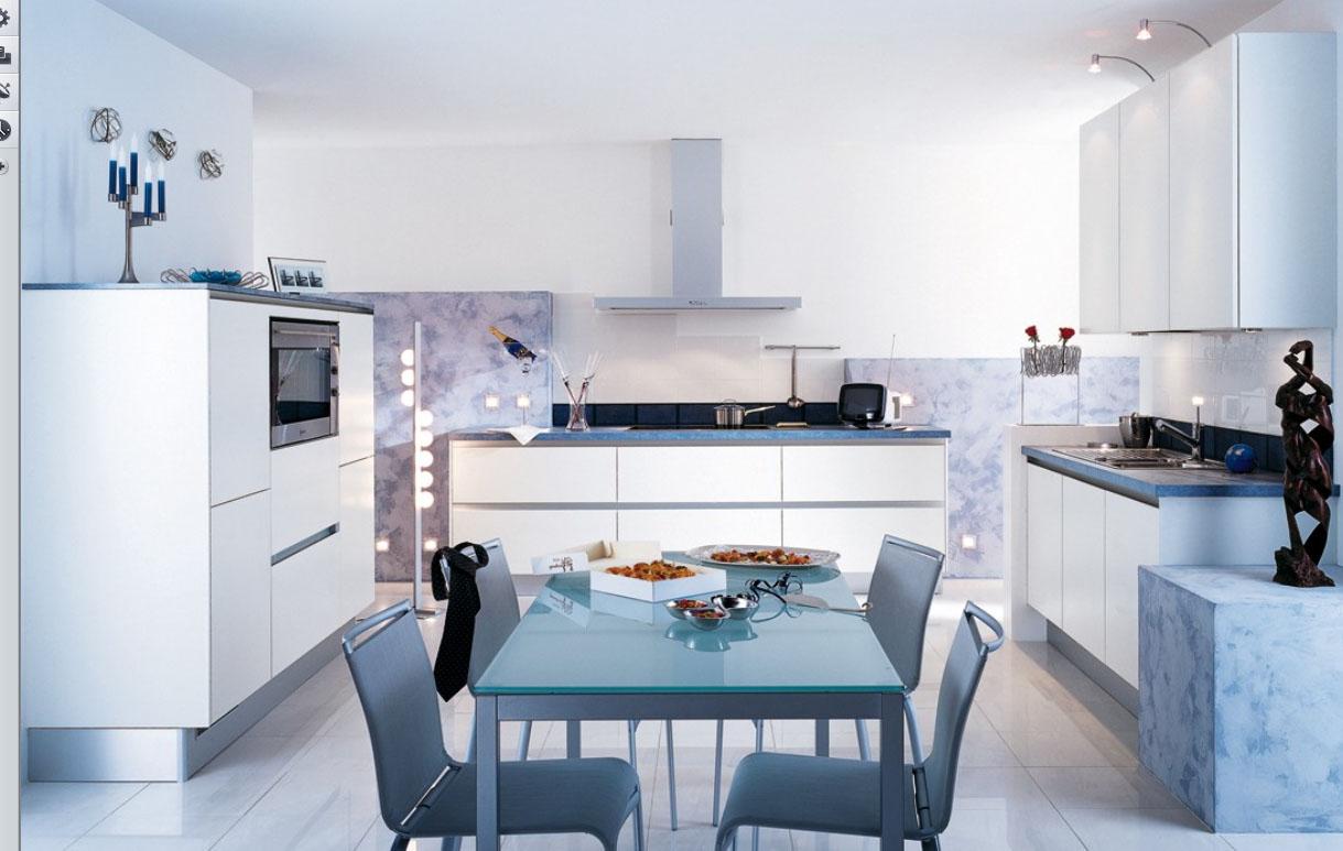 Shades of white kitchen 4
