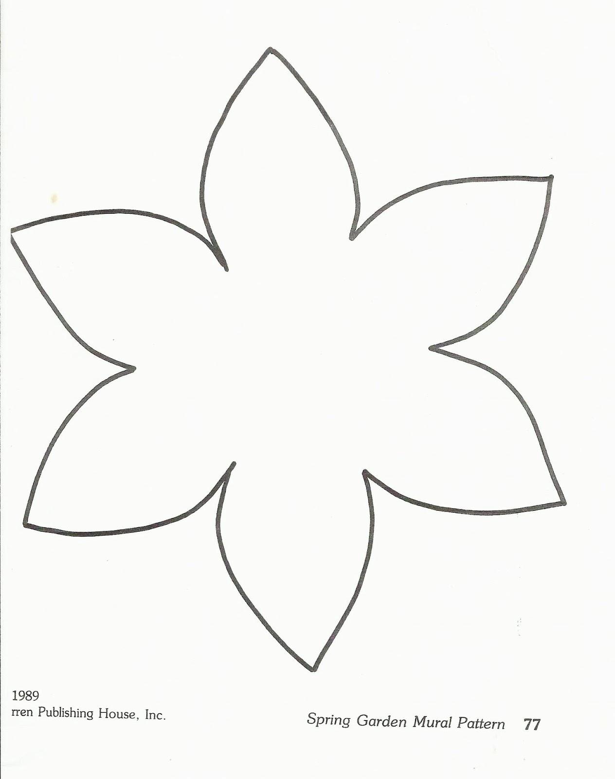 Цветы для вырезания из бумаги
