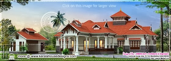 Traditional house Kerala