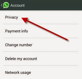 where to change last seen on whatsapp