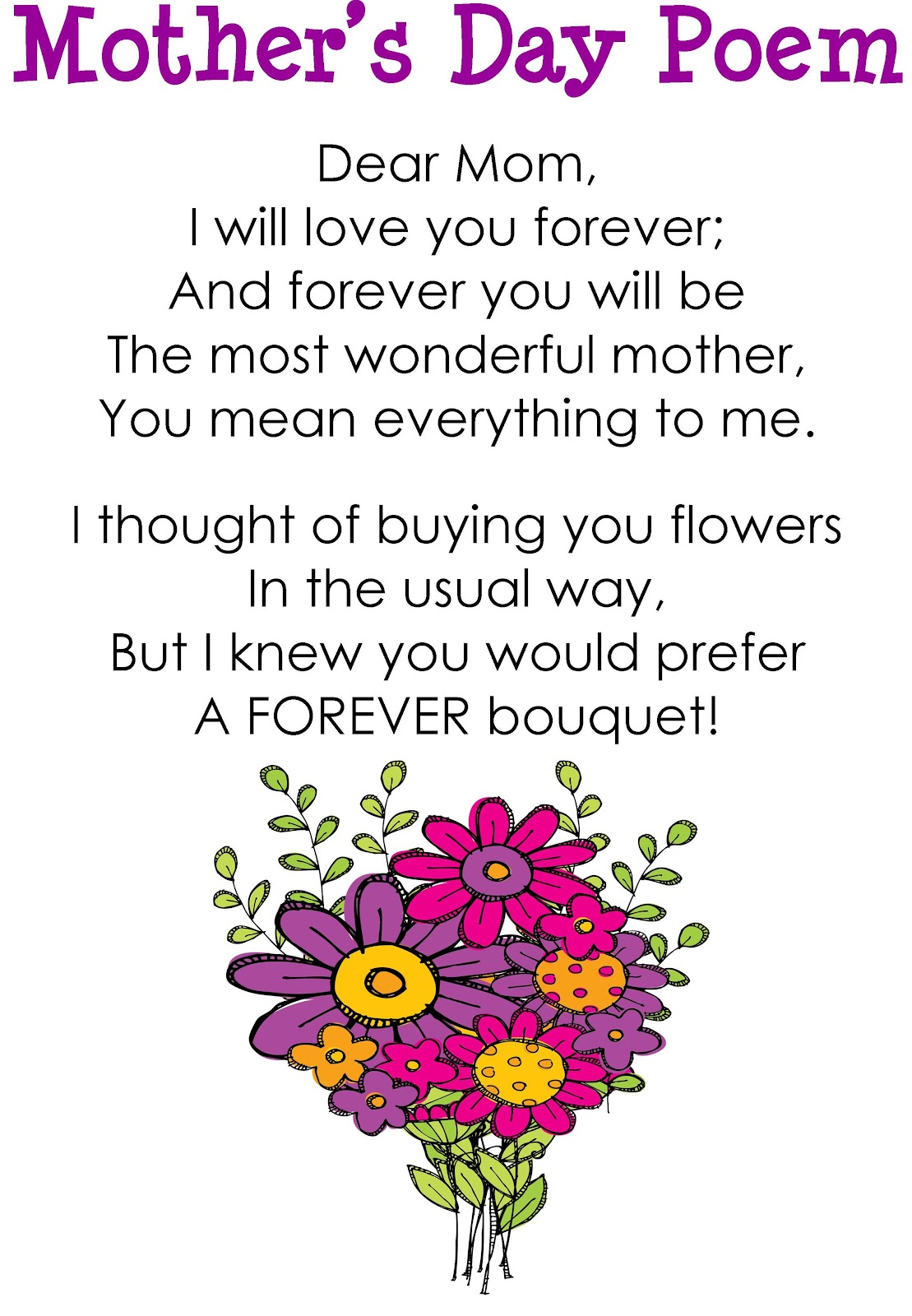 Quotes About A Mother's Love My Coolest Quotes Mother's Day Poem
